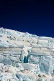 Bello ghiacciaio Fotografia Stock Libera da Diritti