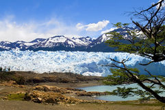 Bello ghiacciaio Immagine Stock