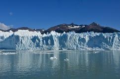 Bello ghiacciaio di Perito Moreno in Argentina Immagini Stock