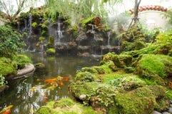Bello giardino cinese Fotografia Stock