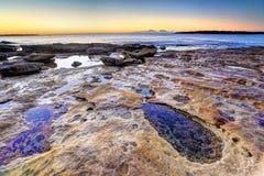 Bello giorno a Cronulla NSW Australia Immagine Stock Libera da Diritti