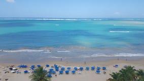 Bello giorno della spiaggia Fotografia Stock