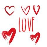 Bello giorno di biglietti di S. Valentino felice della cartolina d'auguri Immagine Stock