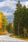 Bello giorno nelle alpi austriache Fotografia Stock