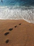 Bello giorno soleggiato alla spiaggia fotografie stock