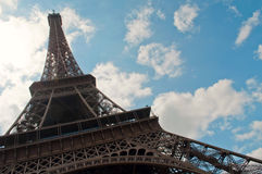 Bello giorno soleggiato a Parigi Immagini Stock Libere da Diritti