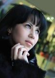 Bello giovane brunette Immagini Stock Libere da Diritti
