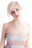 Bello giovane modello in un vestito Fotografia Stock Libera da Diritti