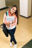 Bello giovane studente Fotografia Stock