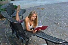 Bello giovane studente di Latina Immagine Stock