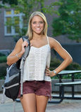 Bello giovane studente di Latina Immagini Stock
