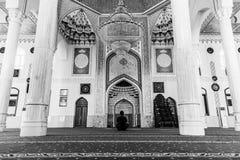 Bello Haji Yaqub Mosque in Dušanbe Fotografia Stock Libera da Diritti