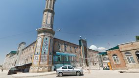 Bello Haji Yaqub Mosque in Dušanbe Immagine Stock