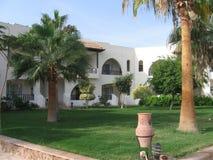 Bello hotel Arabical del cielo fotografia stock libera da diritti