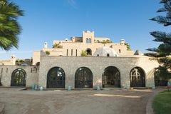 Bello hotel marocchino Fotografia Stock Libera da Diritti