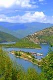 Bello iew del lago della montagna Fotografia Stock Libera da Diritti