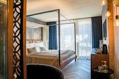 Bello interior design Decorazioni di lusso e stile accogliente Interiore stupefacente immagini stock