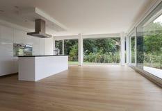 Bello interiore di una casa moderna fotografia stock