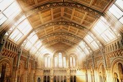 Bello interiore di una costruzione antica Fotografie Stock Libere da Diritti