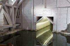 Bello interno della miniera di sale famosa fotografia stock libera da diritti