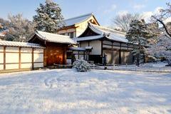 Bello inverno a Kyoto, il Giappone Immagini Stock Libere da Diritti