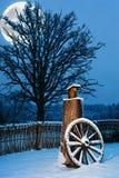 Bello inverno scenico Fotografia Stock