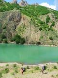 Bello lago Immagine Stock