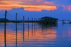 Bello lago Immagini Stock Libere da Diritti