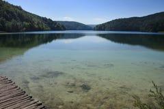 Bello lago Fotografia Stock Libera da Diritti
