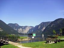 Bello lago austriaco Fotografie Stock Libere da Diritti