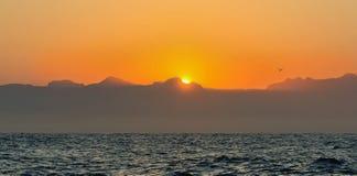 Bello lago della montagna Fotografie Stock