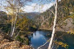 Bello lago della montagna di Amut Immagini Stock Libere da Diritti