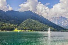 Bello lago di Achensee Immagini Stock