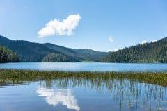 Bello lago di shudu Immagini Stock