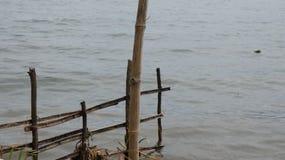 Bello lago Lut Tawar, altopiani di Gayo, distretto centrale dell'Aceh, l'Aceh, Indonesia morning fotografia stock libera da diritti