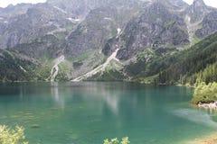 Bello lago in Polonia Fotografie Stock Libere da Diritti