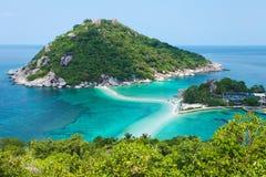 Bello litorale dell'oceano Fotografie Stock Libere da Diritti