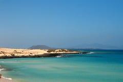 Bello litorale di Fuerteventura Immagini Stock
