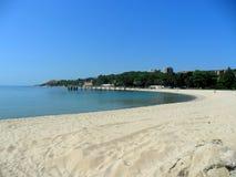 Bello litorale di mare Immagine Stock