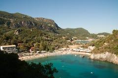 Bello litorale mediterraneo Immagine Stock Libera da Diritti