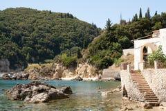 Bello litorale mediterraneo Immagini Stock