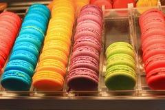 Bello Macarons multicolore Fotografia Stock Libera da Diritti