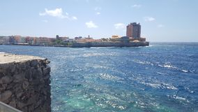 Bello mare dell'acqua Fotografia Stock