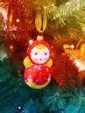 Bello matryoshka russo del giocattolo Immagini Stock Libere da Diritti