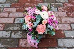 Bello mazzo dei fiori Fotografia Stock