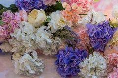 Bello mazzo dei fiori variopinti Immagini Stock