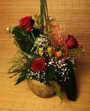 Bello mazzo delle rose Immagine Stock