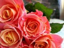 Bello mazzo delle rose Immagini Stock Libere da Diritti