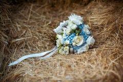 Bello mazzo di cerimonia nuziale Fotografia Stock