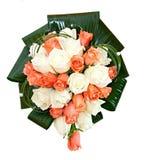 Bello mazzo nuziale ad una festa nuziale, mazzo di fiori. Fotografia Stock Libera da Diritti